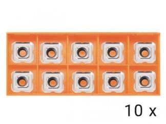 Płytki z węglików spiekanych R2.5 10x (AGP HP1400, EB6T)