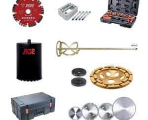 Akcesoria do narzędzi AGP