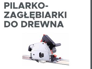 Pilarko-zagłębiarki do drewna
